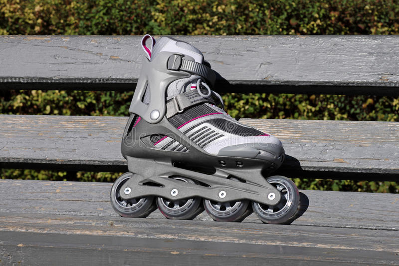 Download Skate on a bench stock photo. Image of powerstrap, sport - 26588648