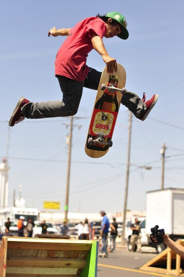 Skate boarder royalty free stock image