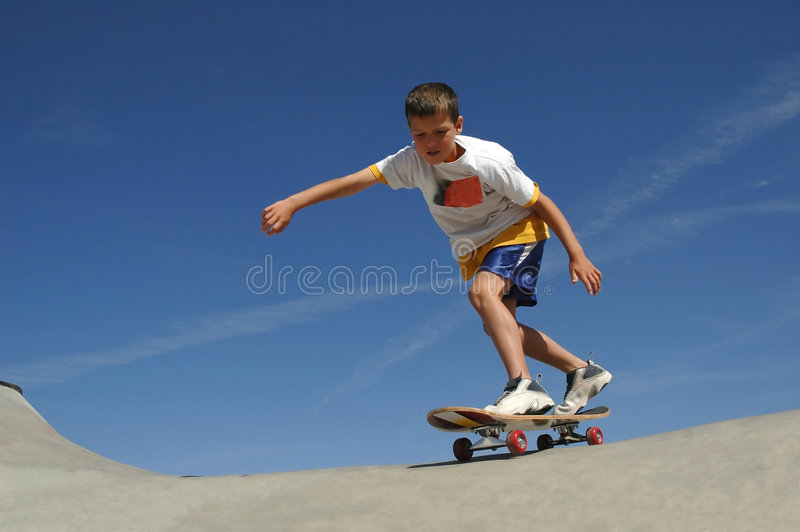 Skate Boy stock photos