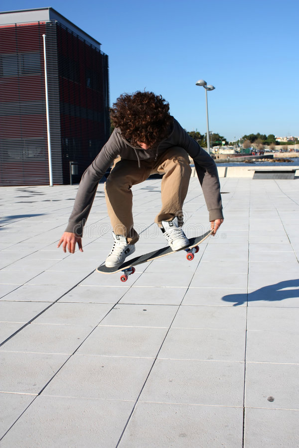Skate boy stock photo