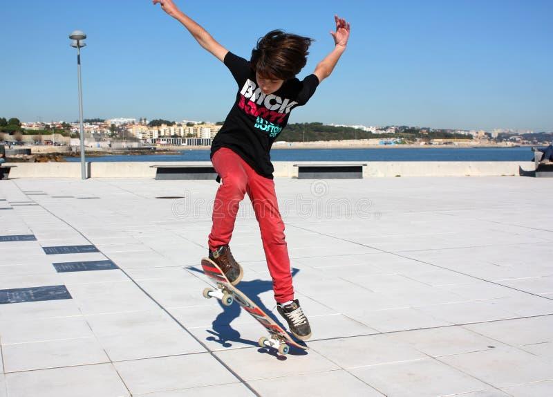 Skate boy stock photos