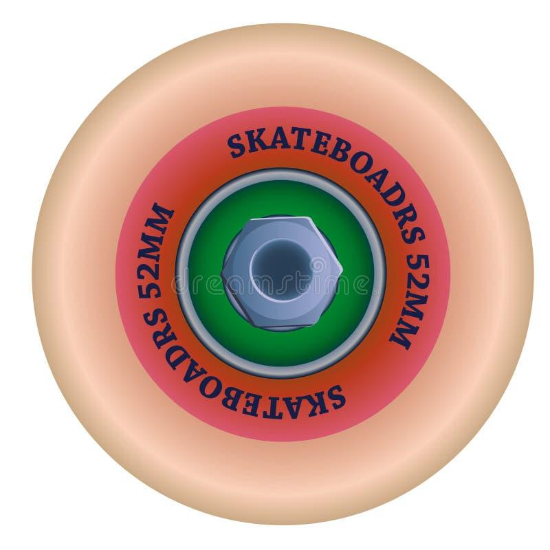 Skate wheel. Vector eps 10 vector illustration