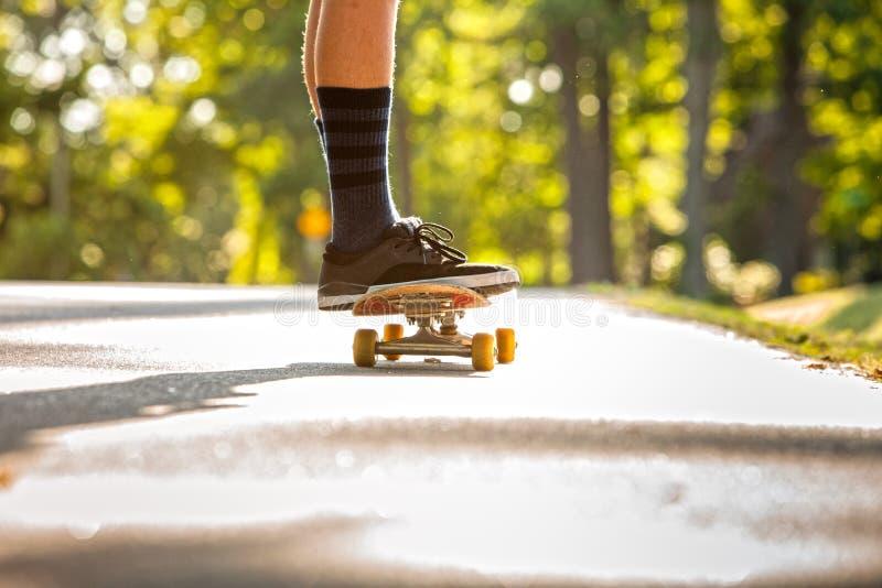 Skateboading photographie stock libre de droits