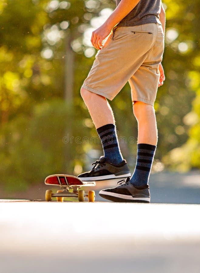 Skateboading photographie stock