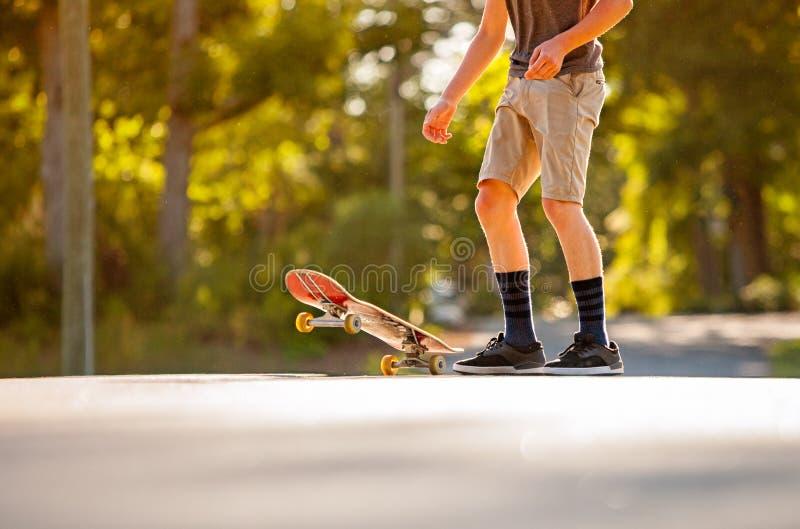 Skateboading photos stock