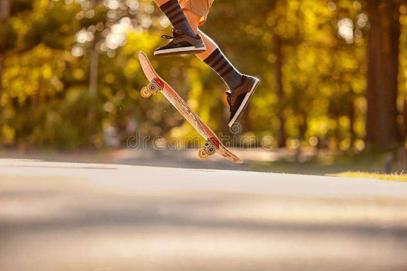 Skateboading images stock