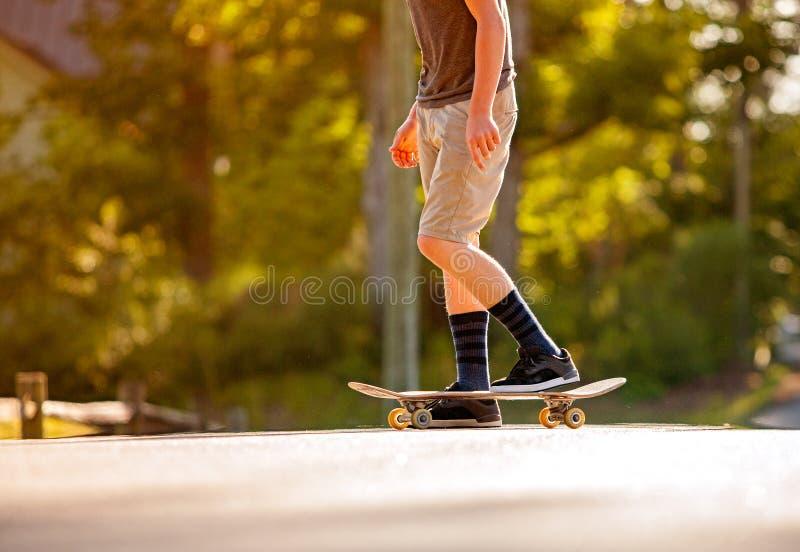 Skateboading images libres de droits