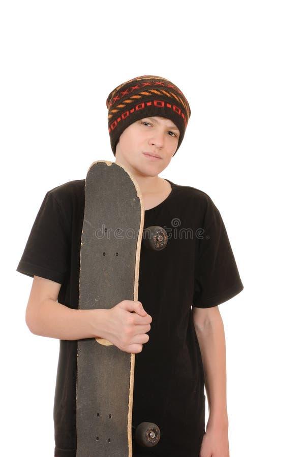 skateboard έφηβος στοκ φωτογραφία