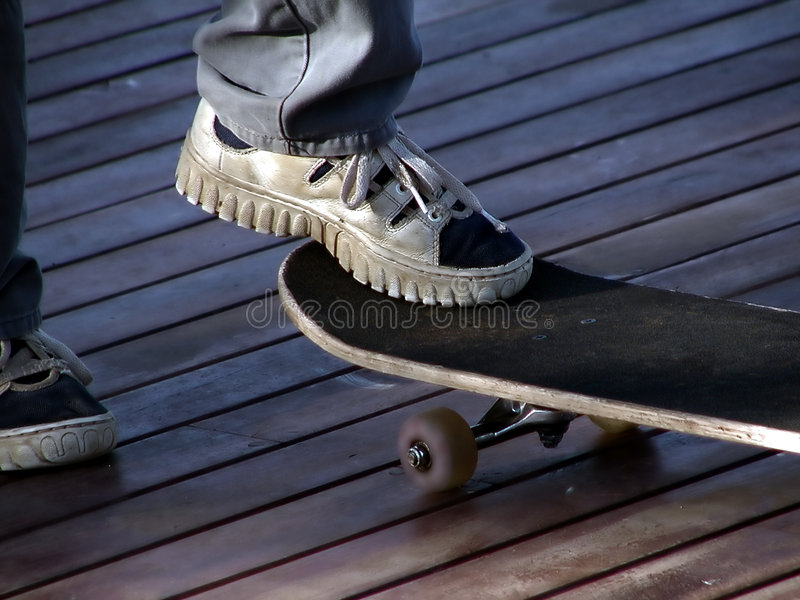 Skateboard Στοκ εικόνες με δικαίωμα ελεύθερης χρήσης