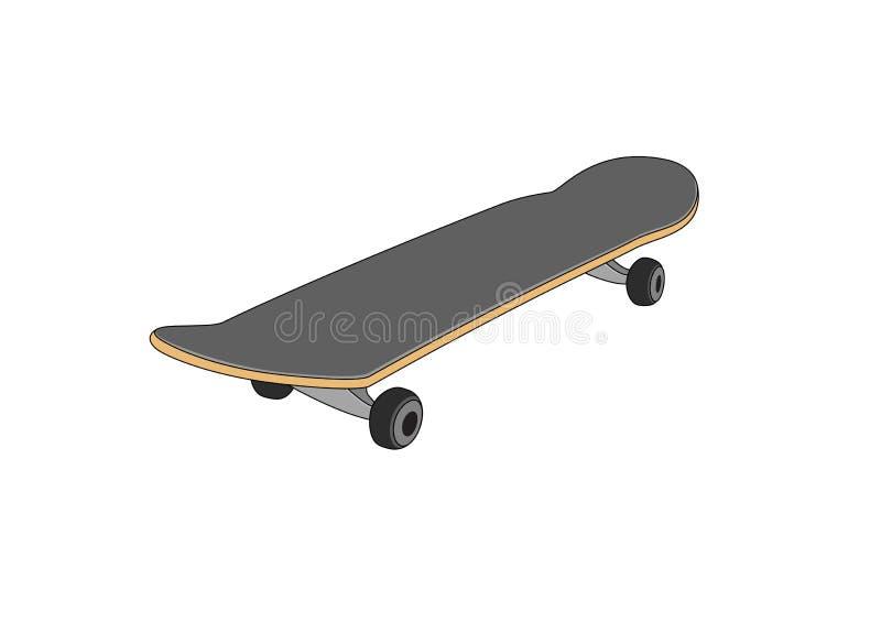 Skateboard royalty-vrije illustratie