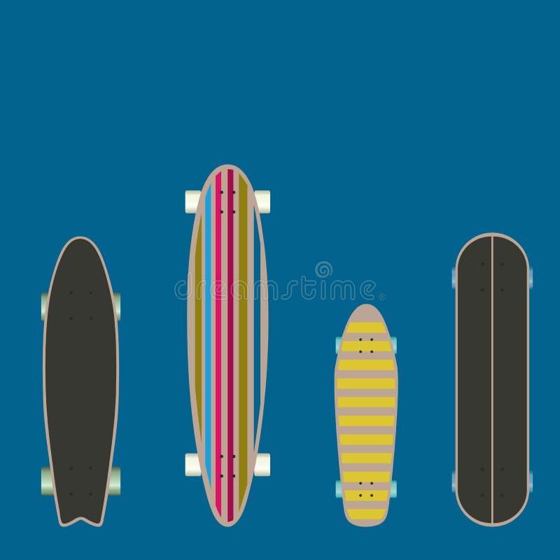 skateboard vector illustratie