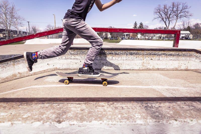 skateboard fotos de stock