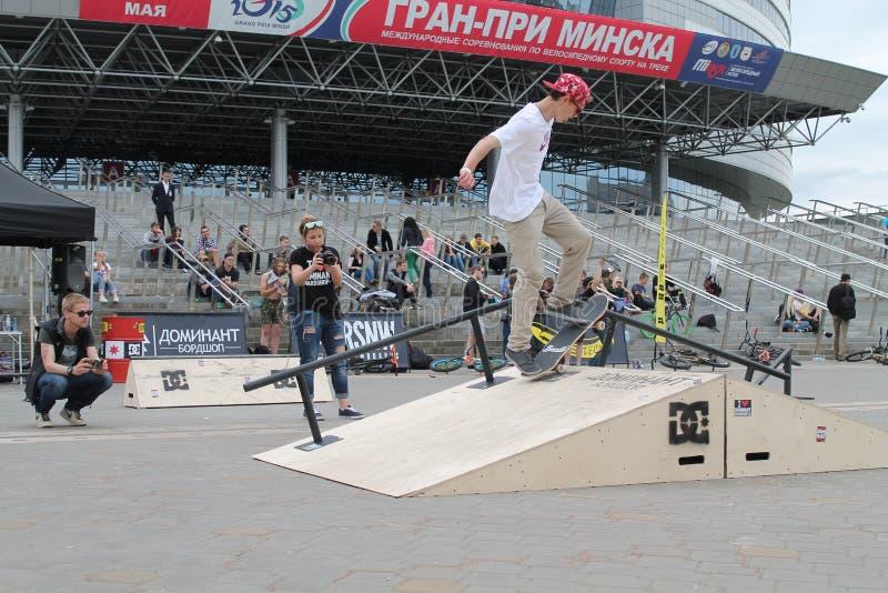 skateboard royalty-vrije stock foto
