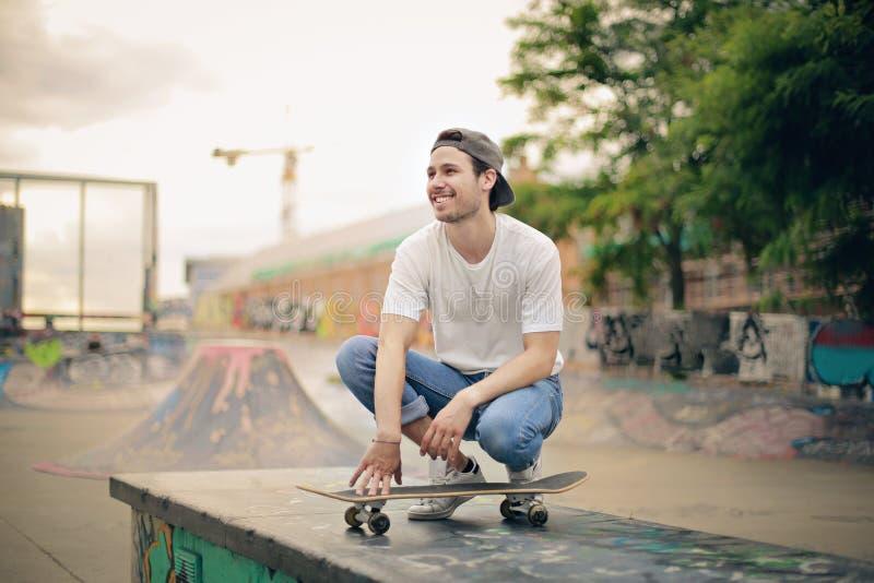 skateboard fotografia stock libera da diritti