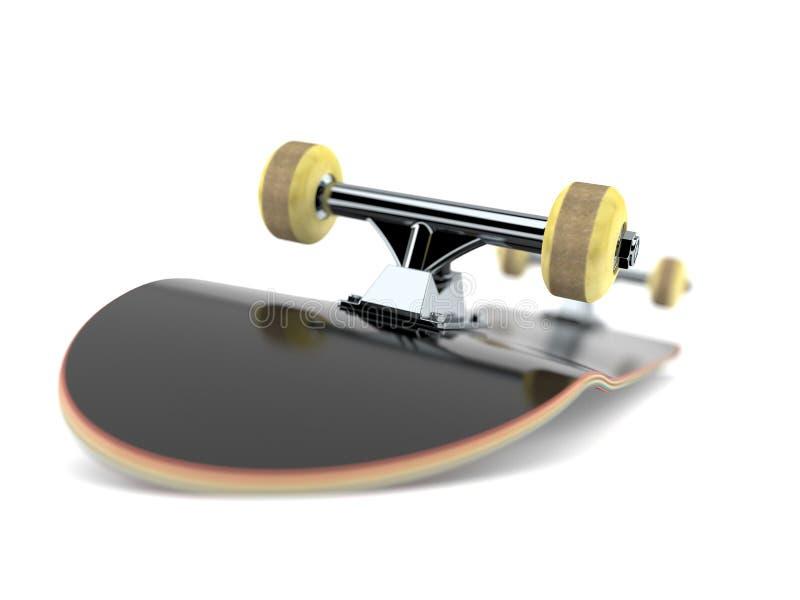 skateboard ilustração royalty free