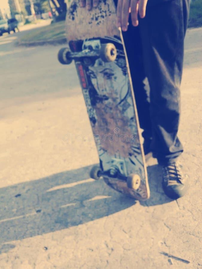 Skateboard day royalty free stock photography