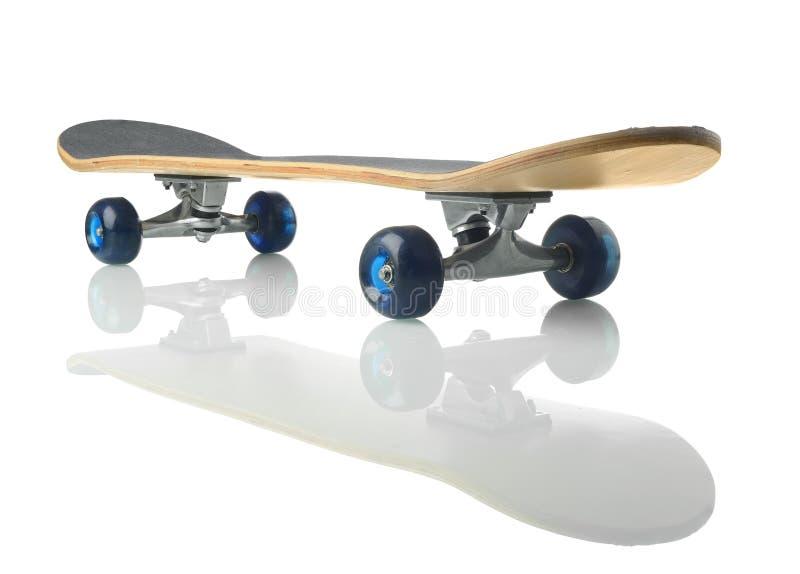 Skateboard deck. On white background royalty free stock photos
