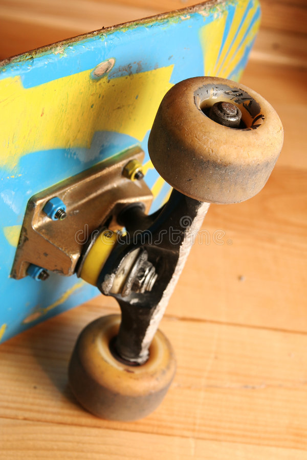 Skateboard detail stock photos