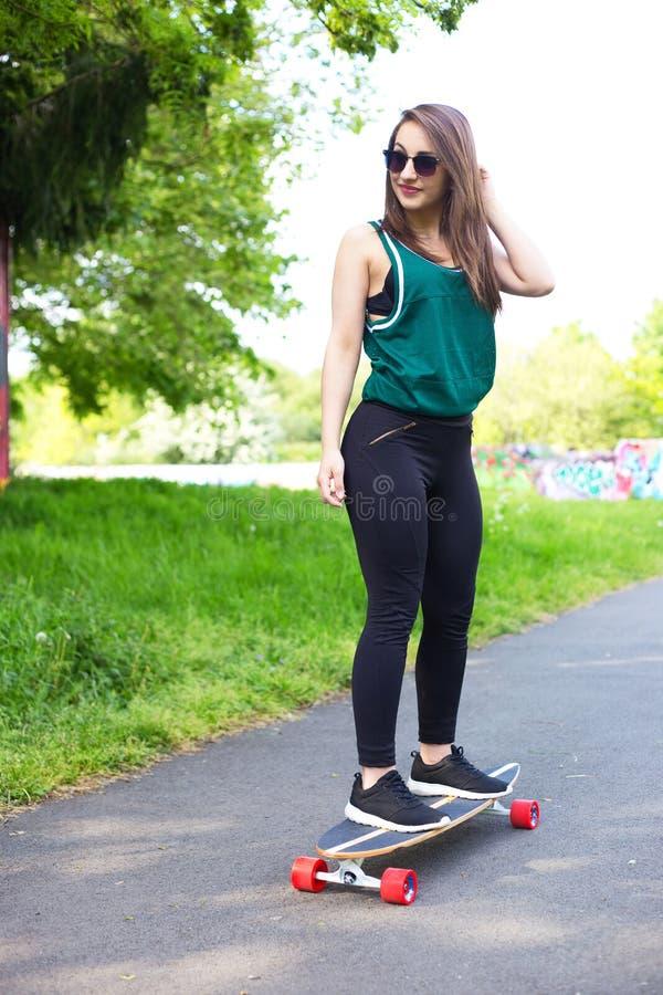 Skateboard girl stock image image of female leisure 72266061 skateboard girl voltagebd Gallery