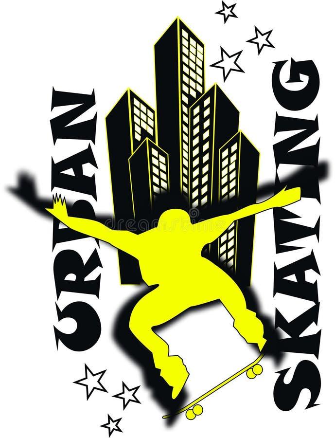 skateboard jongen vector illustratie