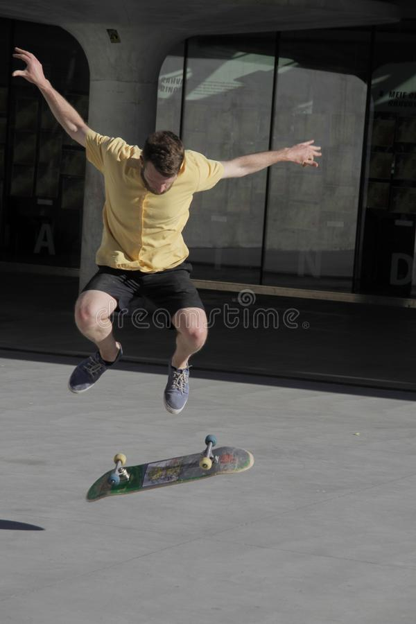Skateboard, Skateboarder, Skateboarding Equipment And Supplies, Freestyle Slalom Skating royalty free stock images