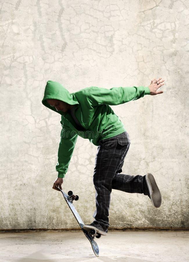 Download Skateboard skill stock image. Image of wall, skate, caucasian - 15943163