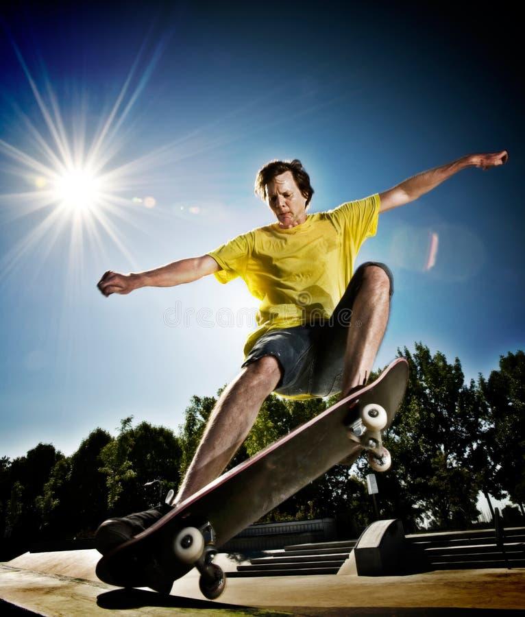 Skateboarder royalty free stock image