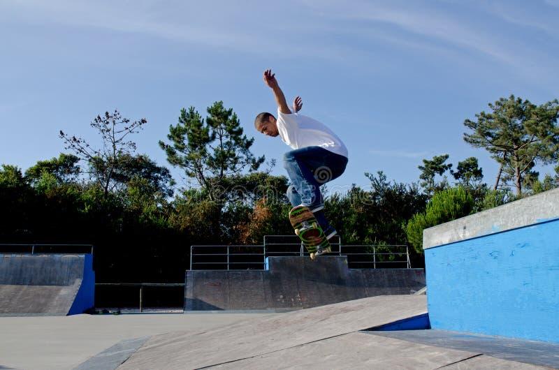 Skateboarder royalty-vrije stock foto