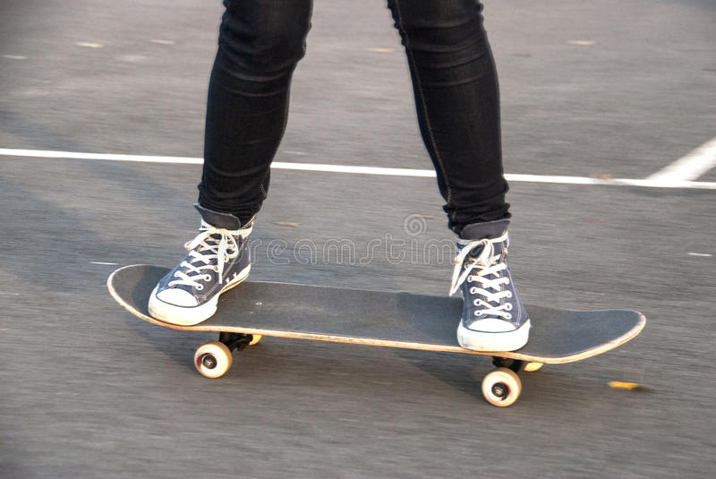 Skateboarder immagini stock libere da diritti