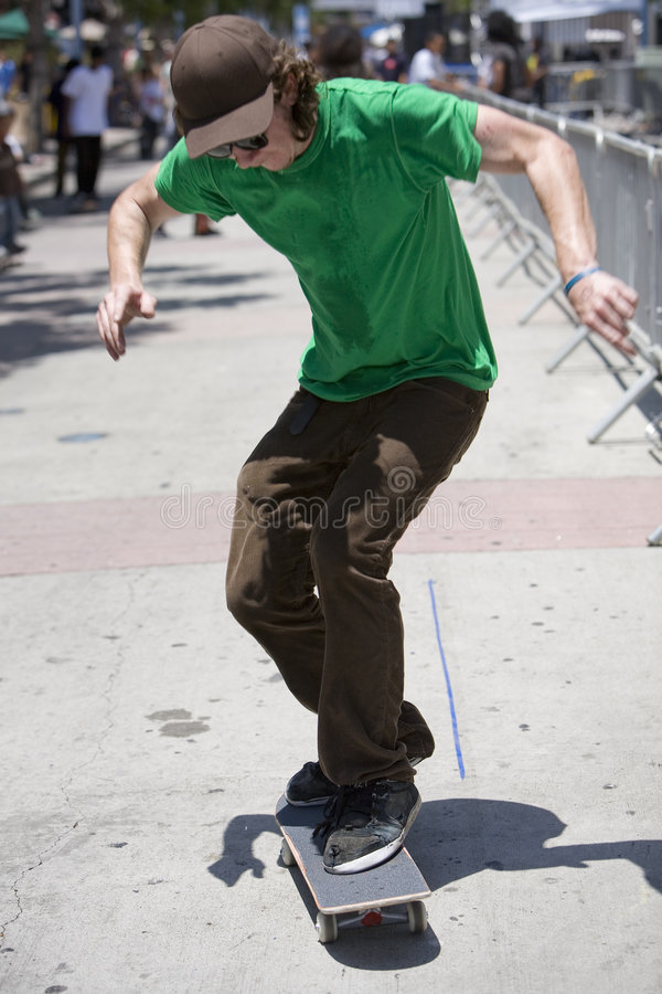 Skateboarder 4 royalty free stock images