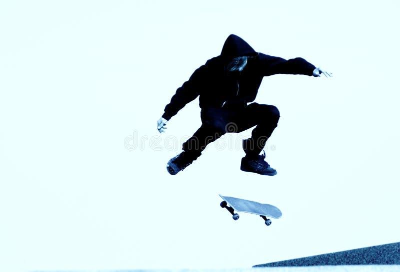 skateboarder arkivbild