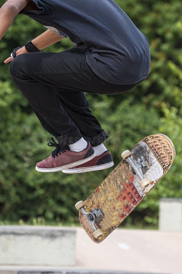 skateboarder imagen de archivo libre de regalías