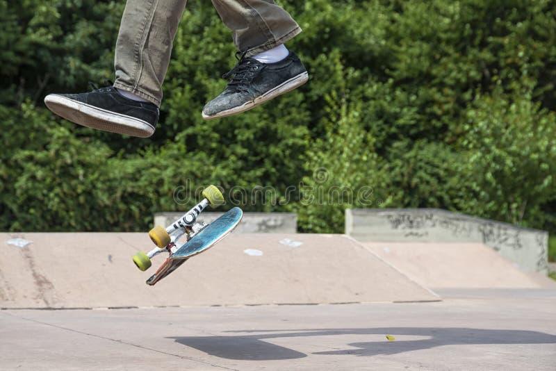 skateboarder imagen de archivo