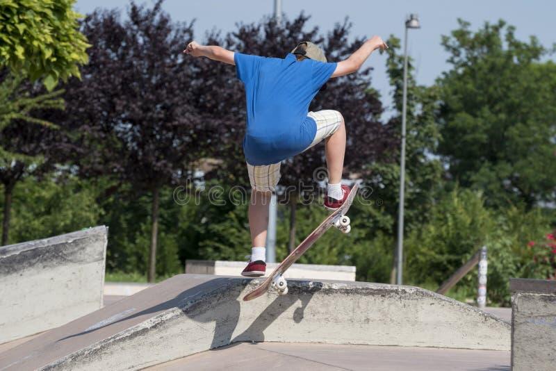 skateboarder fotografía de archivo