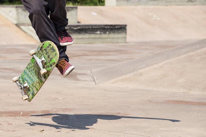skateboarder imágenes de archivo libres de regalías