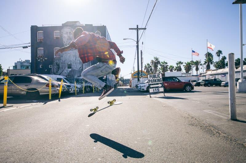 skateboarder royaltyfri bild