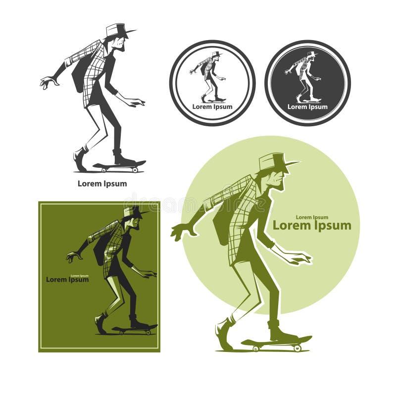Skateboarder4 ελεύθερη απεικόνιση δικαιώματος