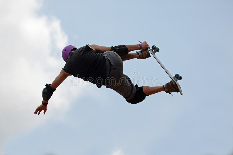Download Skateboarder stock photo. Image of culture, agility, flight - 787578