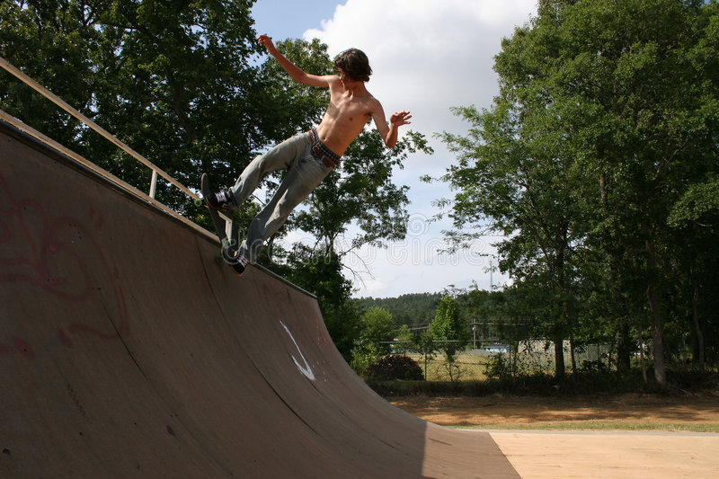 Download Skateboarder stock image. Image of halfpipe, active, riding - 8426167