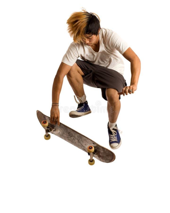 Skateboardfahrer lizenzfreies stockbild