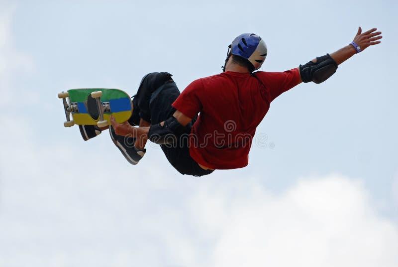 Skateboardfahrer stockbilder