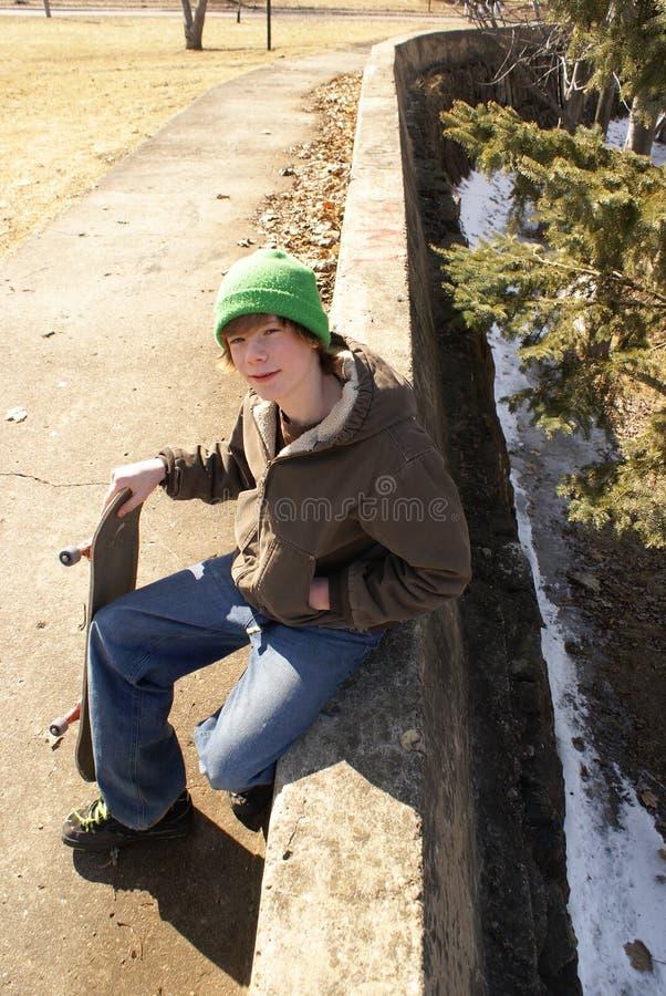 Skateboardfahrer