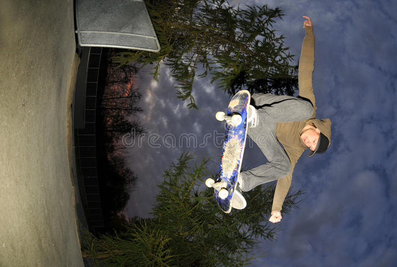 Skateboarding stock photography
