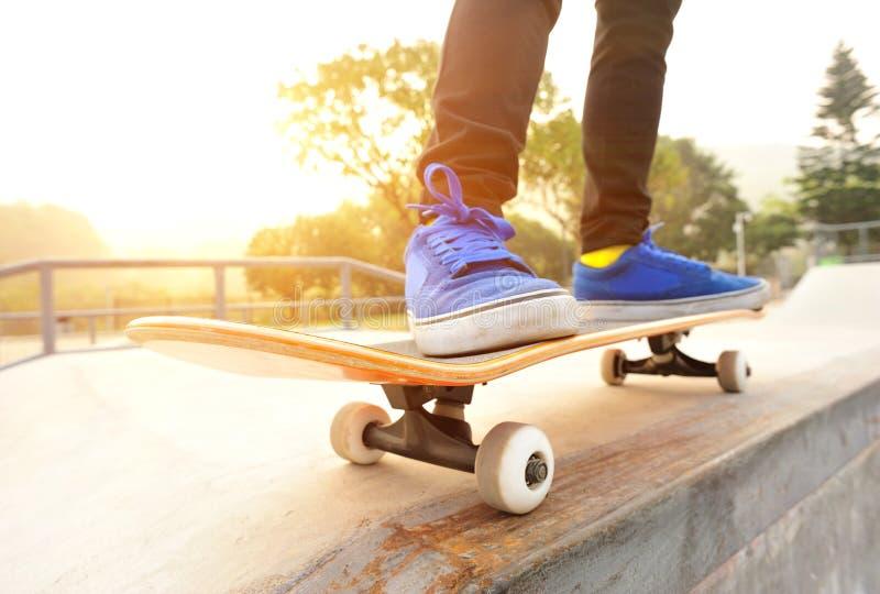 Skateboarding royaltyfria foton