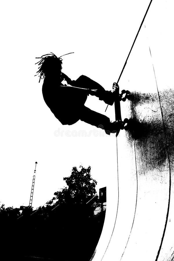 Skateboarding stockbilder