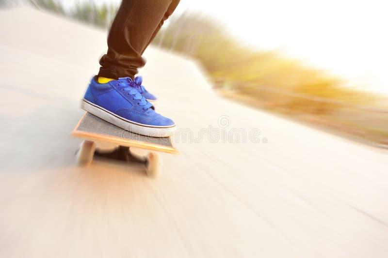 skateboarding στοκ φωτογραφία με δικαίωμα ελεύθερης χρήσης