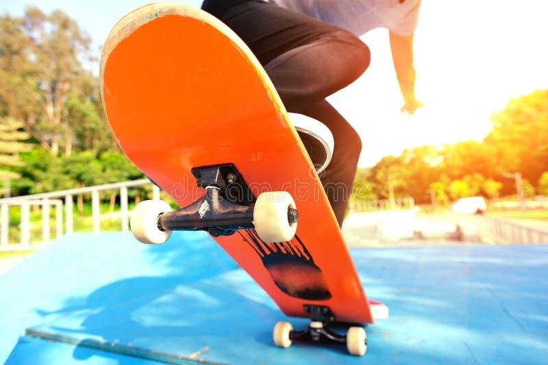 skateboarding fotografia de stock