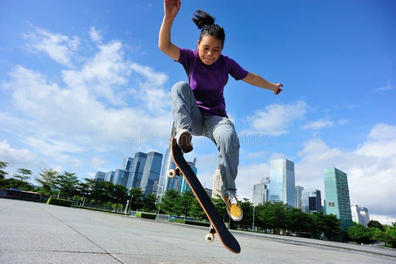 skateboarding fotografia stock libera da diritti