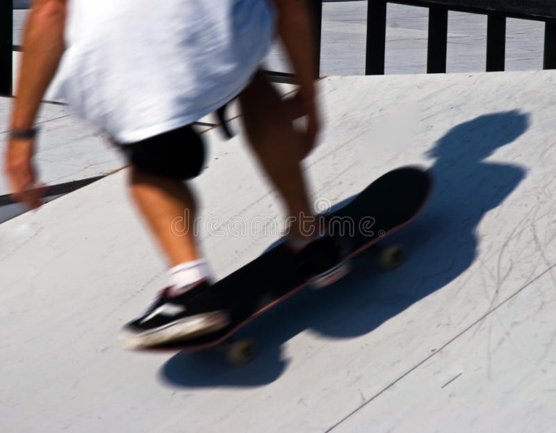 skateboarding royalty-vrije stock foto