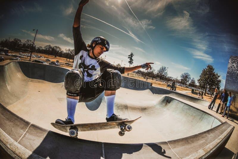 skateboarding foto de archivo libre de regalías